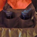 Versatile pockets inside bird bag.