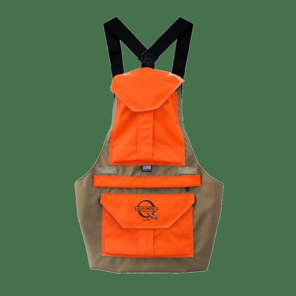 tan or orange bird hunting vest